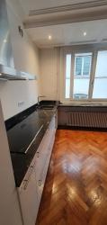 Plans de travail de cuisine en Quartzite Capelli d'Oro, poli brillant